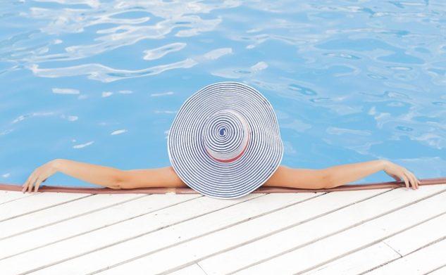 Kinderdroom – zwembad in de tuin