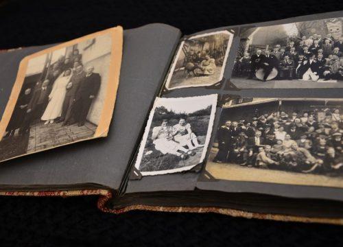 Herinneringsfotoboek