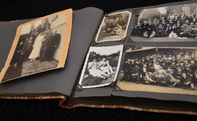 Herinneringsfotoboek van mijn vader