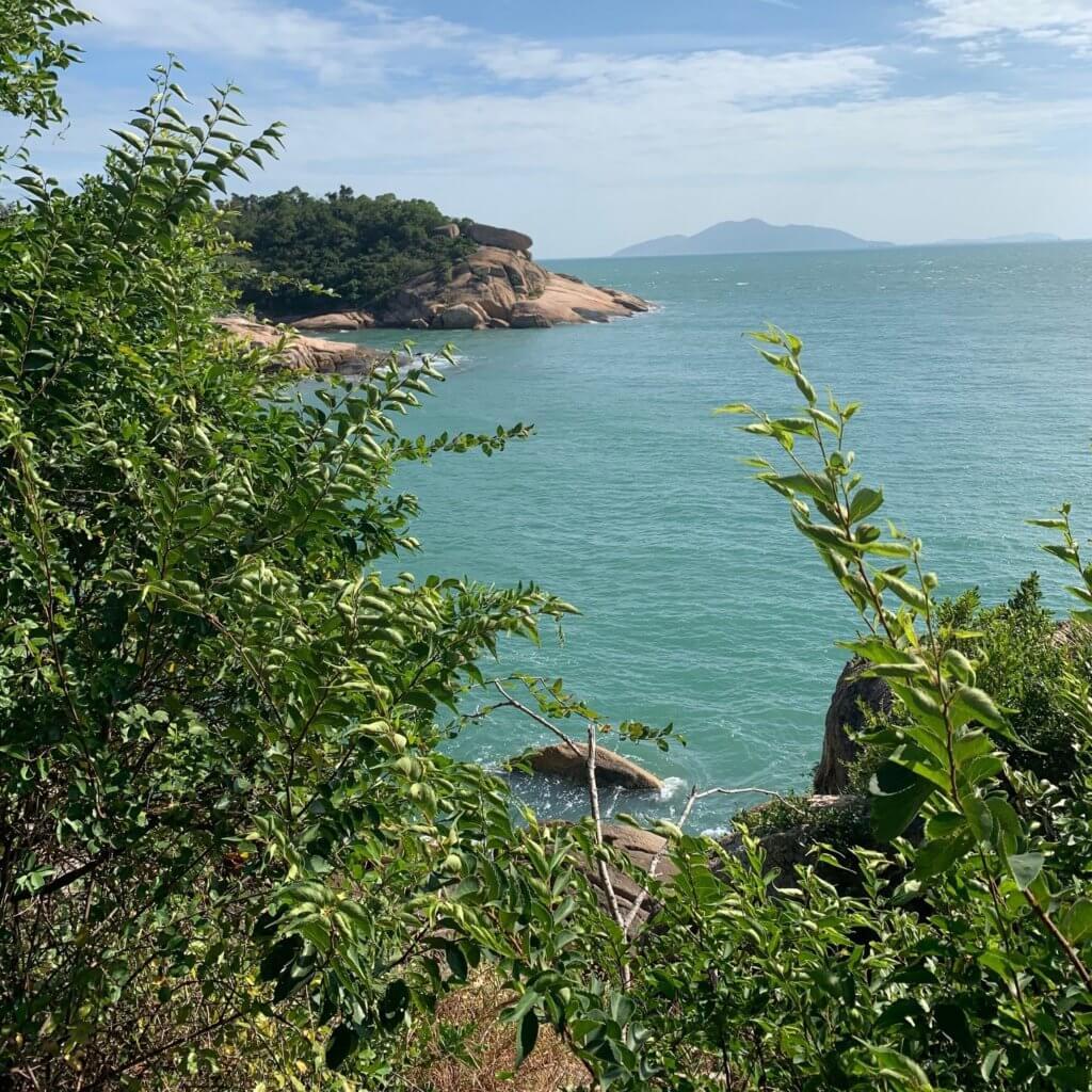 uitzicht op Cheung Chau